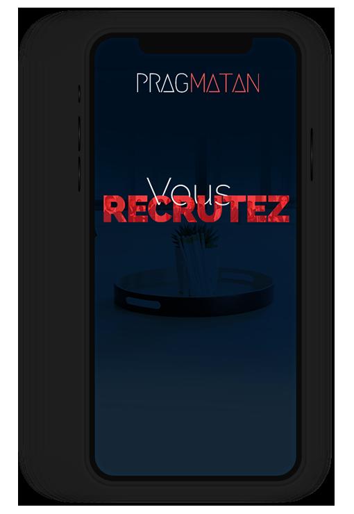 Site internet responsive PRAGMATAN, délégation de recruteurs (RPO)