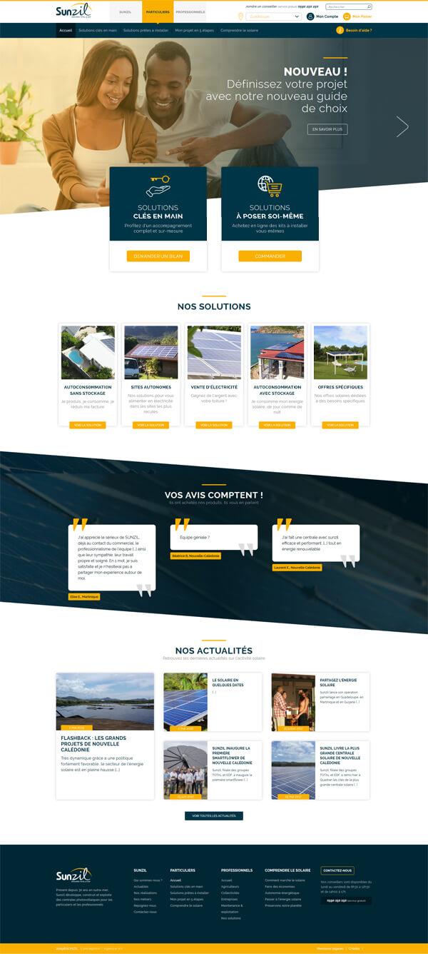 Refonte site web lyon
