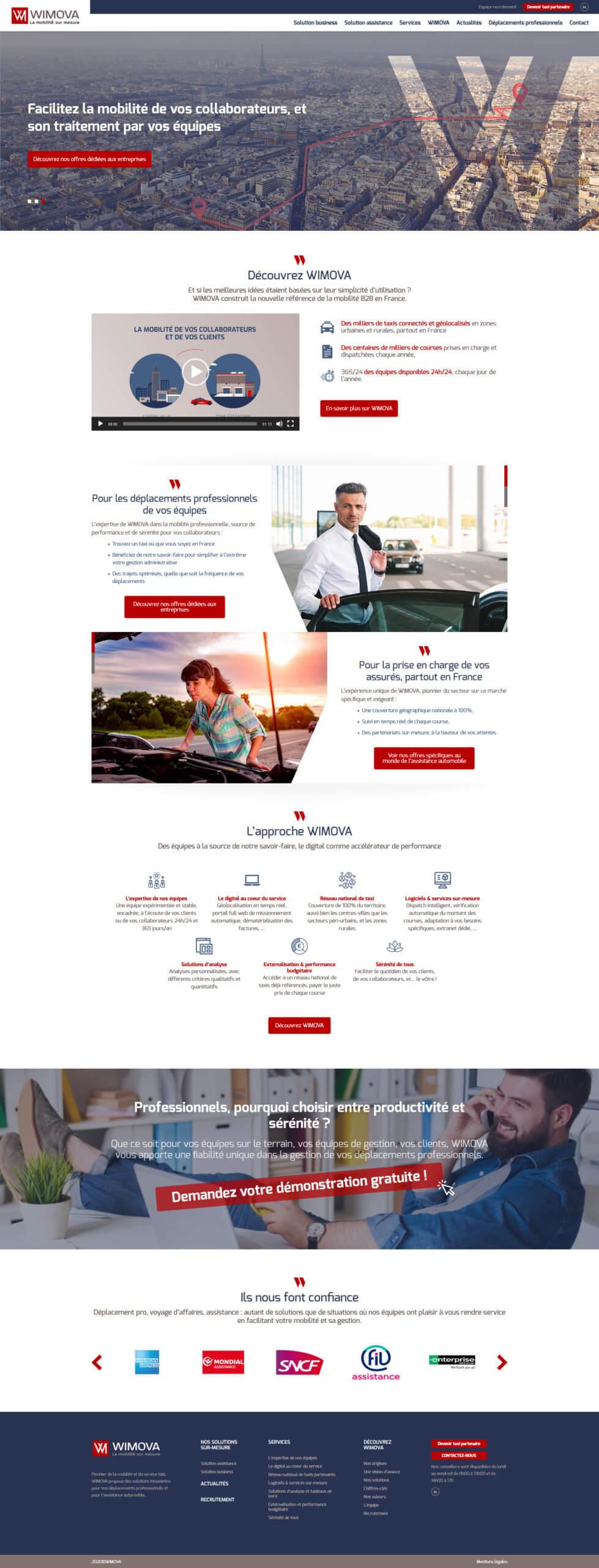 Création site web Lyon