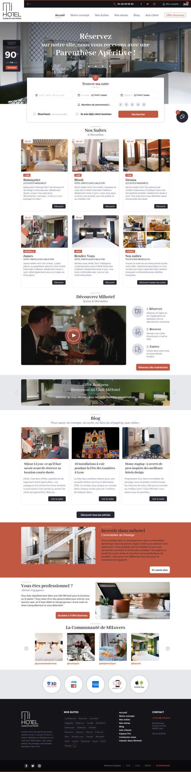 Refonte webdesign